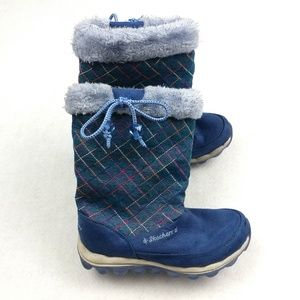 Skechers Skech-Air Quilty Cuties Boots Size 2